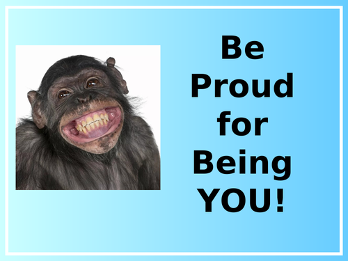 Be Proud For Being You (This is Me) - Assembly