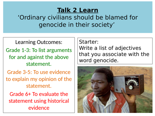 Should ordinary people be blamed for genocide?