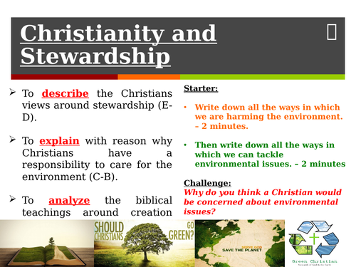 Christianity and the environment