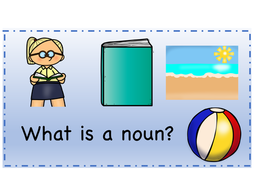 Learn About Nouns