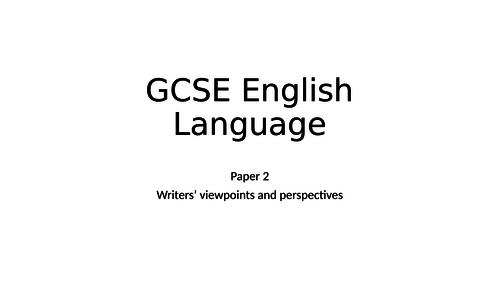 KS4, GCSE, AQA, Paper 2, question 4, viewpoints, compare, reading, PRISONS.
