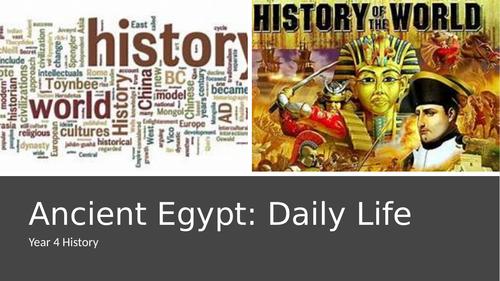 Egypt- Daily Life