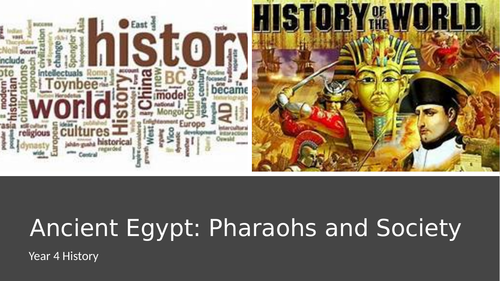 Egyptian society -pharaohs