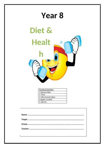 Year 8 Food Booklet