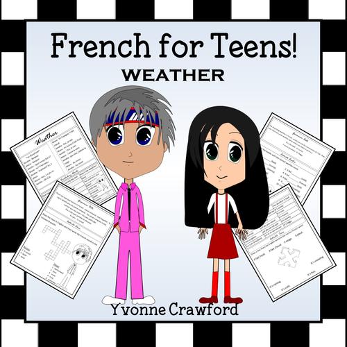 French Weather - La Météo en Français
