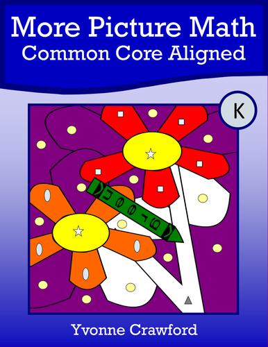 Color by Number #2 (kindergarten) Color by Number, Adding