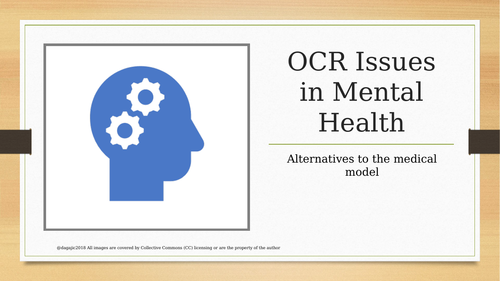 OCR A Level Psychology - Issues in Mental Illness