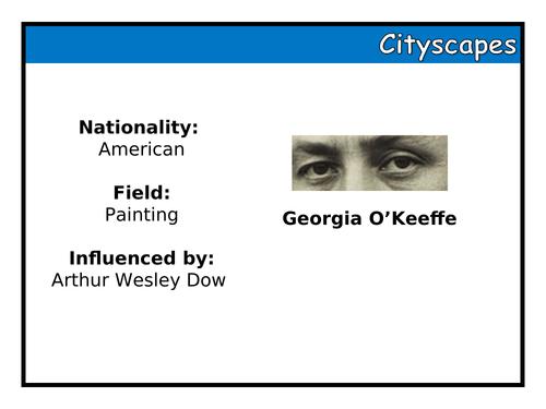 Cityscapes UOW - Georgia O'Keeffe
