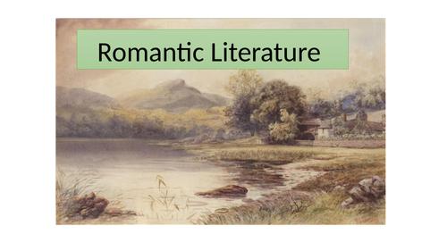 Year 9 Romantic Literature Scheme of Work