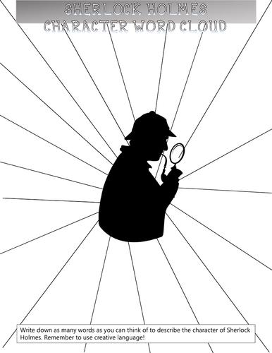 Sherlock Holmes Word Cloud