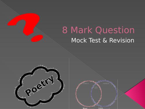 Edwin Morgan Scottish Texts 8 Mark Question (National 5 English)