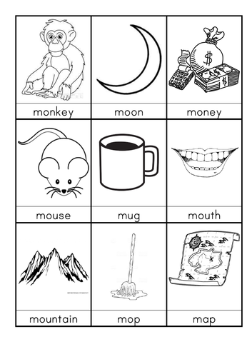 M words beginning with M