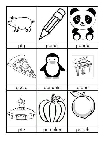 P words beginning with P