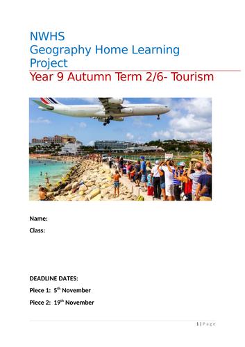 Tourism homework project
