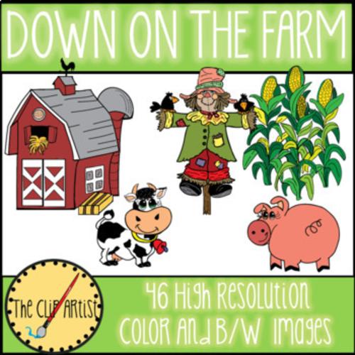 Down on the Farm Clip Art