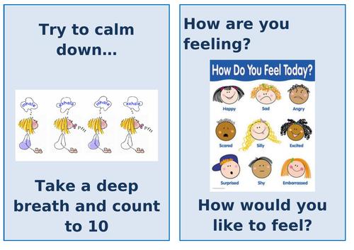 Behaviour reminders/prompts for children
