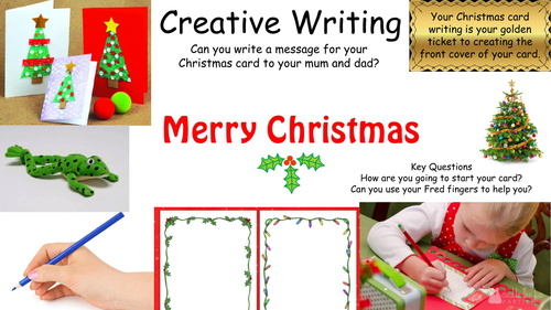 Christmas- Continuous provision activities
