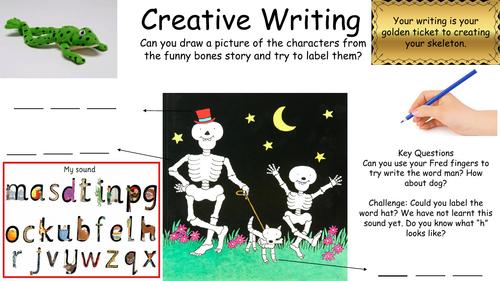 Funny Bones- Continuous provision activities