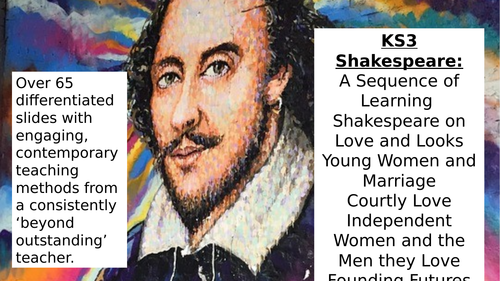 KS3 Introducing Shakespeare Love, Marriage, Looks, Young People GCSE Foundations