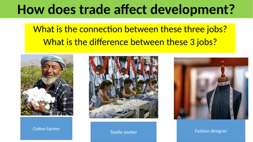 How does global trade affect development