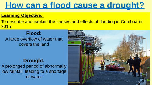 Causes and Effects of Flooding in Cumbria