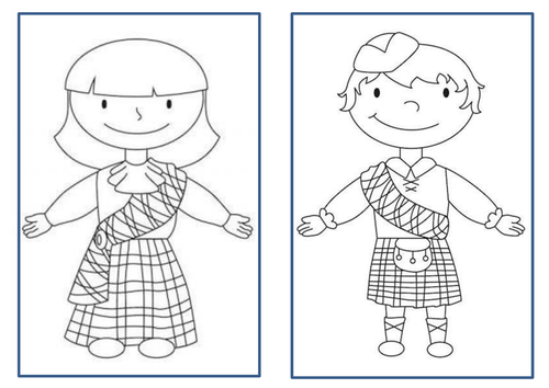 Scotland -  Traditional Clothing