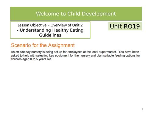 Child Development R019 3.3 Government Guidelines