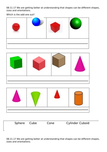 Elementary School 3d Volume Surface Area Density Resources