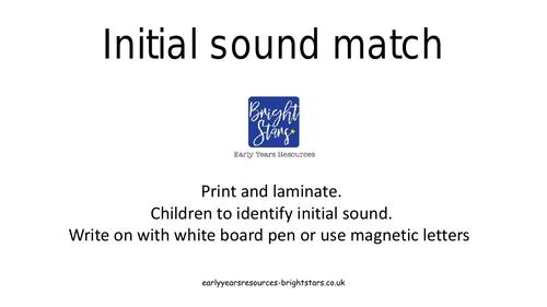 Initial sound mats