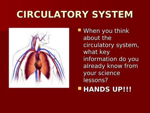 Circulatory presentation (lesson support)