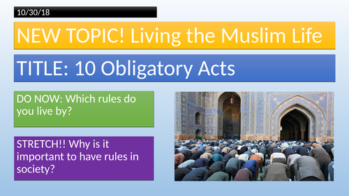 10 Obligatory Acts of Shi'a Islam