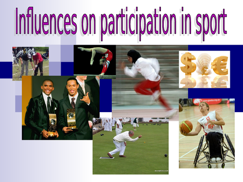 Influences on sports participation