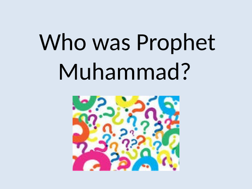 Why and how is Muhammad so important to Muslims? Year 4 RE Plan and Resources