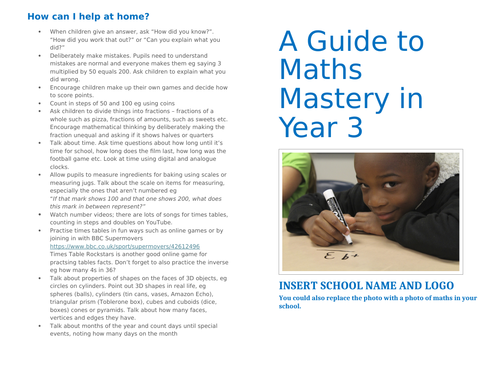 A Guide to Mastery Maths in Year 3