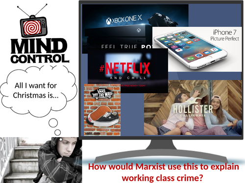 GCSE WJEC Sociology: Crime and Deviance – Marxists Theory