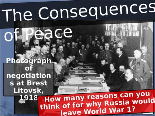 Treaty of Brest Litovsk (Soviet Russia course)