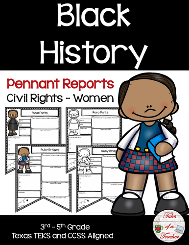 Civil Rights Women Pennant Reports ~ Black History
