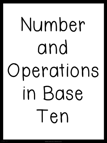 Three-Digits represents Hundreds, Tens and Ones - CCSS Aligned