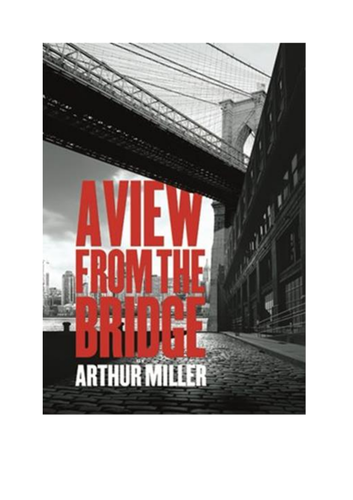 A View From the Bridge Study Guide with Questions