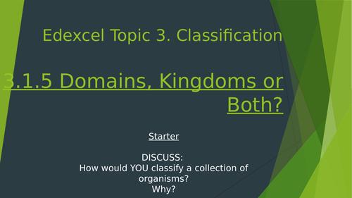 Domains, Kingdoms Or Both?