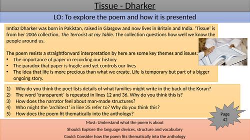 Tissue teaching/revision slide