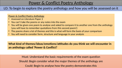 Power & Conflict Introduction