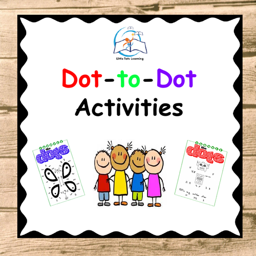Dot To Dot Numbers 1 - 40