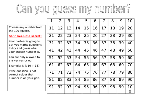 Can you guess my number?