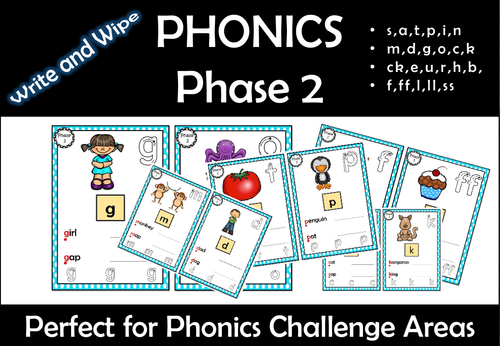 Phonics Phase 2 Sequence