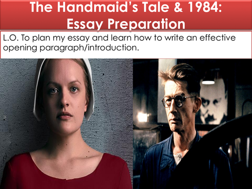 The Handmaid's Tale and 1984 Essay: Planning and Introduction