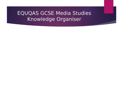 GCSE Media Studies - Knowledge Organiser