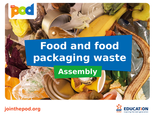 Food waste assembly