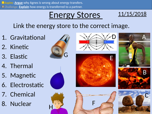 GCSE Physics: Energy Stores and Transfers