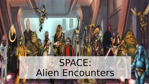 Creative Writing Mini Topic on Aliens